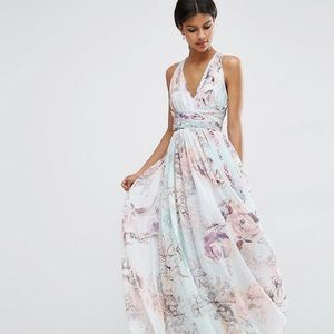 ASOS wedding maxi dress